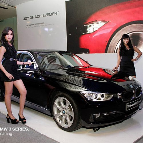 Lanuching BMW 3 Series