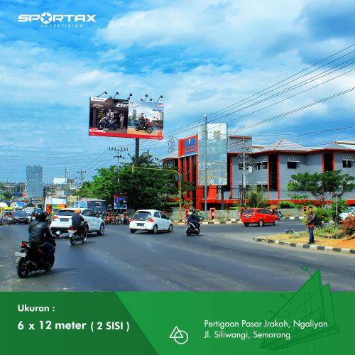 Billboard Pasar Jrakah Semarang