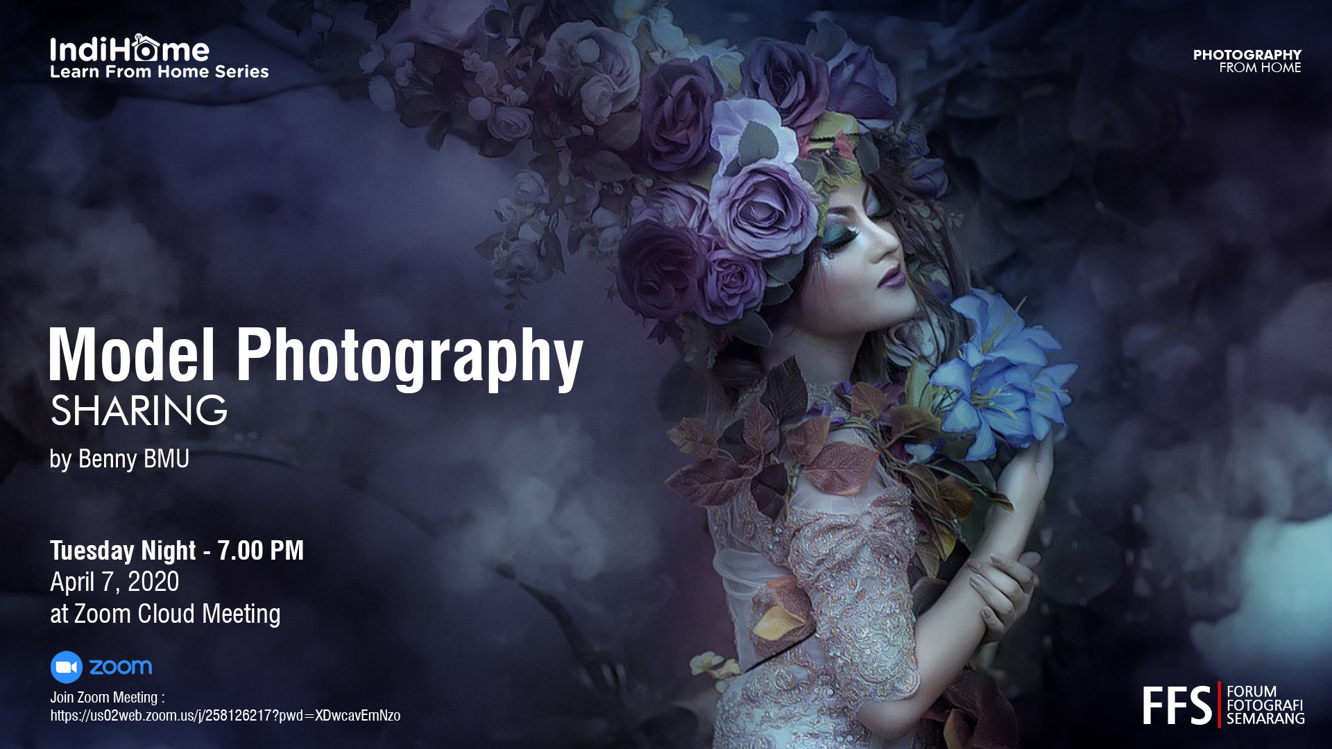 WORKSHOP – PHOTOGRAPHY FROM HOME